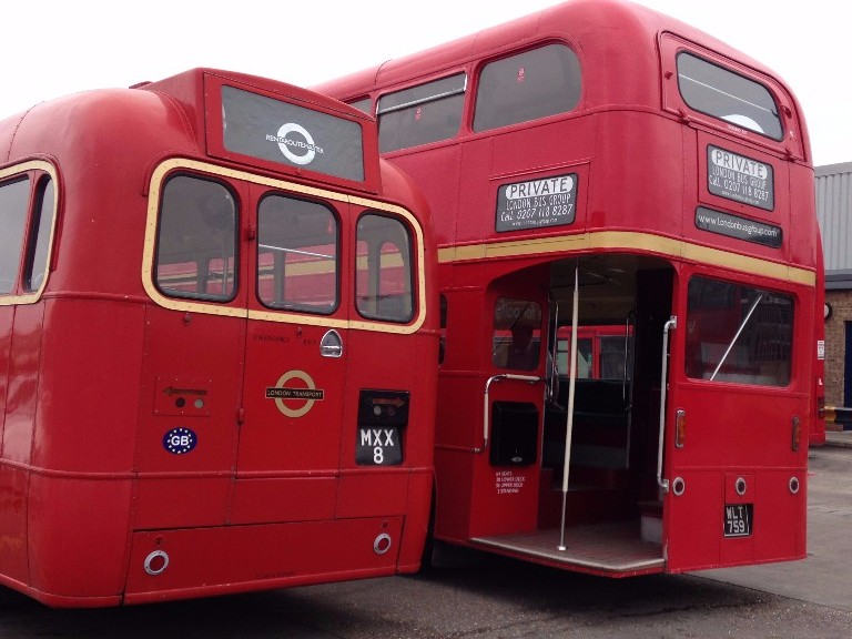 Routemaster Wedding bus hire